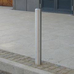 Anti Ram Semi Dome Top Stainless Steel Bollard