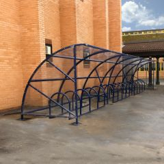 12M Bromley Cycle Shelter