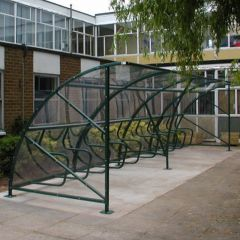 8M Bromley Cycle Shelter