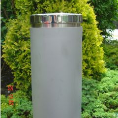 Bead Blasted Stainless Steel Bollard