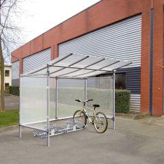 Budget Aluminium Cycle Shelter