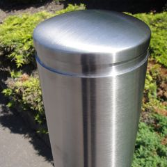 Feature Top Stainless Steel Bollard