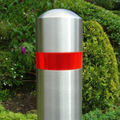 Full Dome Stainless Steel Bollard