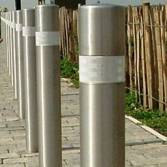 Large Recess Stainless Steel Bollard