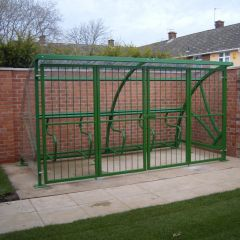 Mayfair Cycle Shelter with Gates