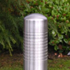 Multi Groove Stainless Steel Bollard