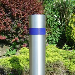 Record Groove Stainless Steel Bollard