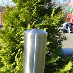 Stainless Steel Bollard with Sep Cap