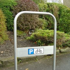Stainless Steel York Cycle Stand