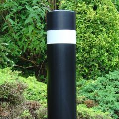 Steel Bollard Large Single Groove
