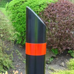 Steel Bollard Slant Top 139mm Diameter