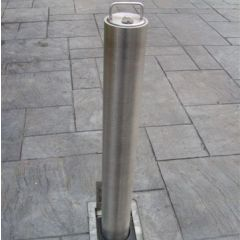 Warrior Stainless Steel Standard Round Telescopic Bollard