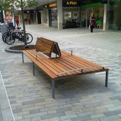 Double Sided Woking Seat
