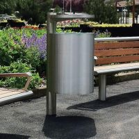 Bradford Stainless Steel Litter Bin