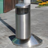 Stainless Steel Cannock Litter Bin