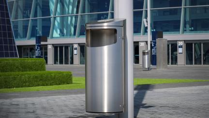 Product Update: New Stainless Steel Litter Bin