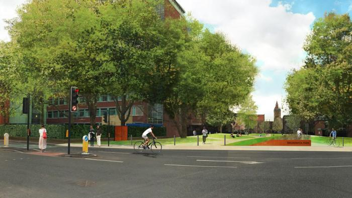 Phase 2 of the University of Manchester's newest and largest Green Space