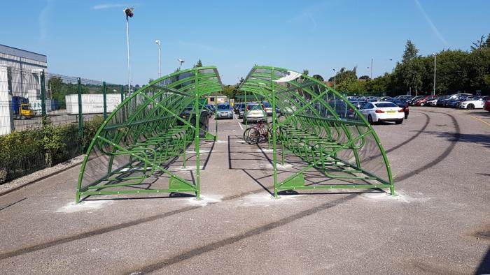 New Look get new cycle shelters