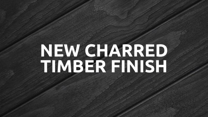 New Charred Timber Finish for the Ascot Litter/Recycling Bin