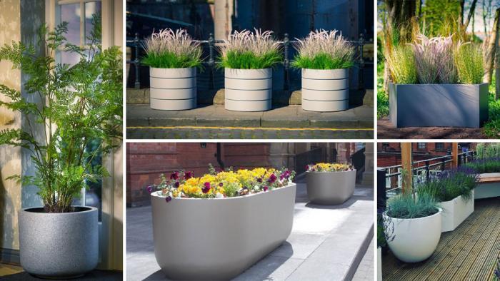 NEW Weatherproof planter range