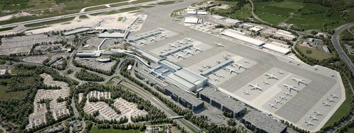 Recent Expansion of Terminal 2 at Manchester Airport