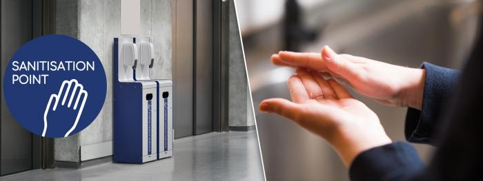 Actively control Coronavirus with our all in one sanitisation stations.