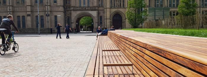 Street furniture in commercial projects - what are the obvious and less obvious benefits?