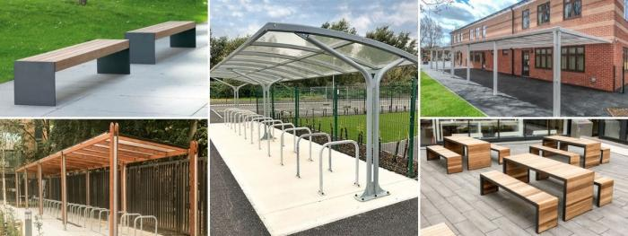 Street Furniture Packages for Educational Facilities across the country